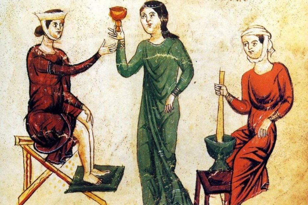 Trotula de Salerne ( - 1097).