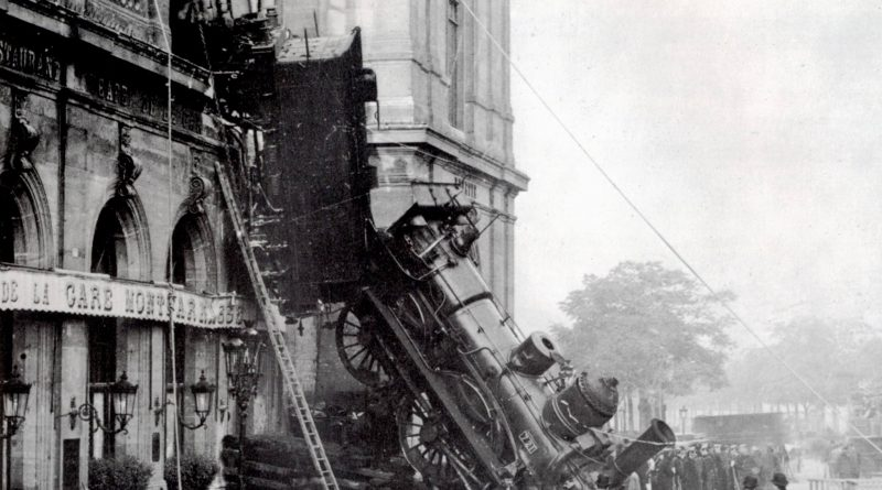 Accident gare Montparnasse