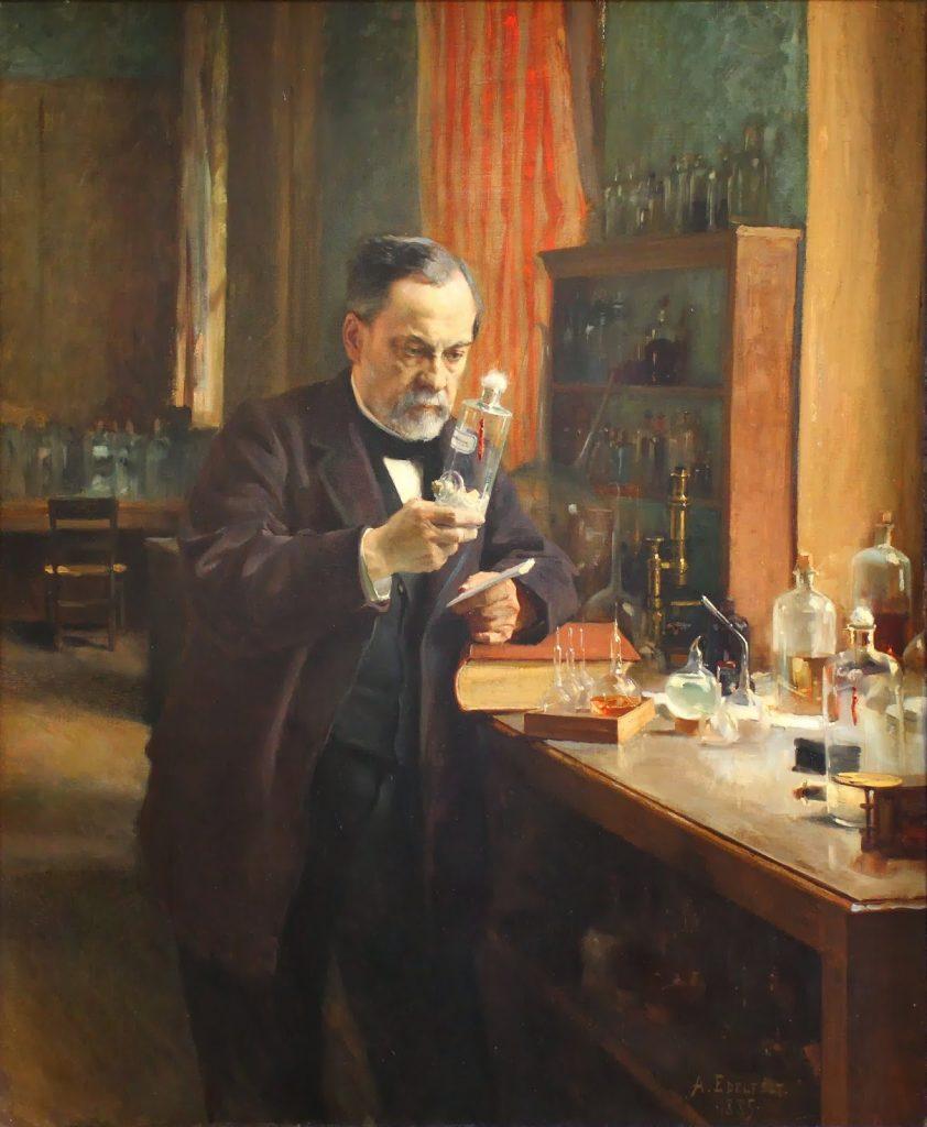 Albert Edelfelt (1854-1905), Louis Pasteur, 1885, huile sur toile, Musée d'Orsay.