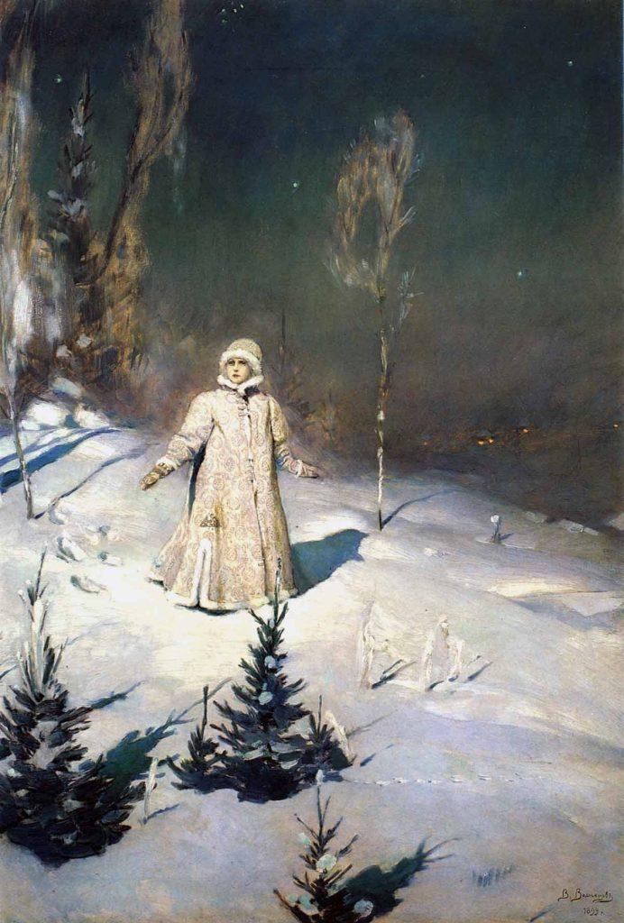 Viktor Vasnetsov (1848-1926), Jeune fille des neiges, 1899, huile sur toile, Galerie Tretiakov