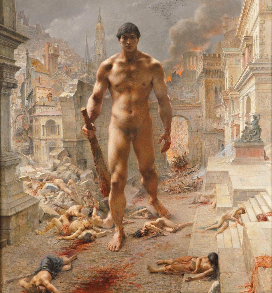 Henri-Camille Danger (1857–1937), Fléau!, 1901, huile sur toile, musée d'Orsay.