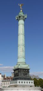 Colonne de Juillet, place de la Bastille. Crédits photo : Azadeh.farshidi CC BY-SA 3.0. Source: Wikicommons.