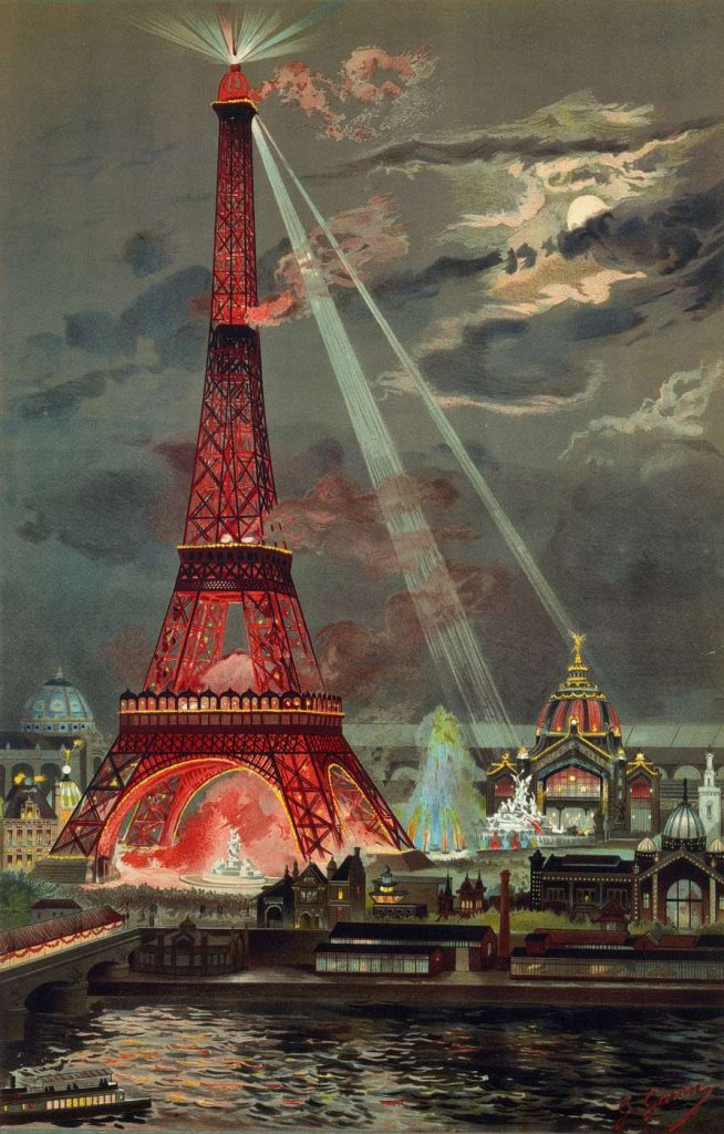 Georges_Garen_embrasement_tour_Eiffel