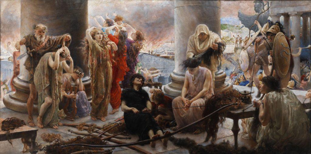 Giuseppe Boschetto (1841–1918), Pro Patria Omnia, huile sur toile, collection privée.