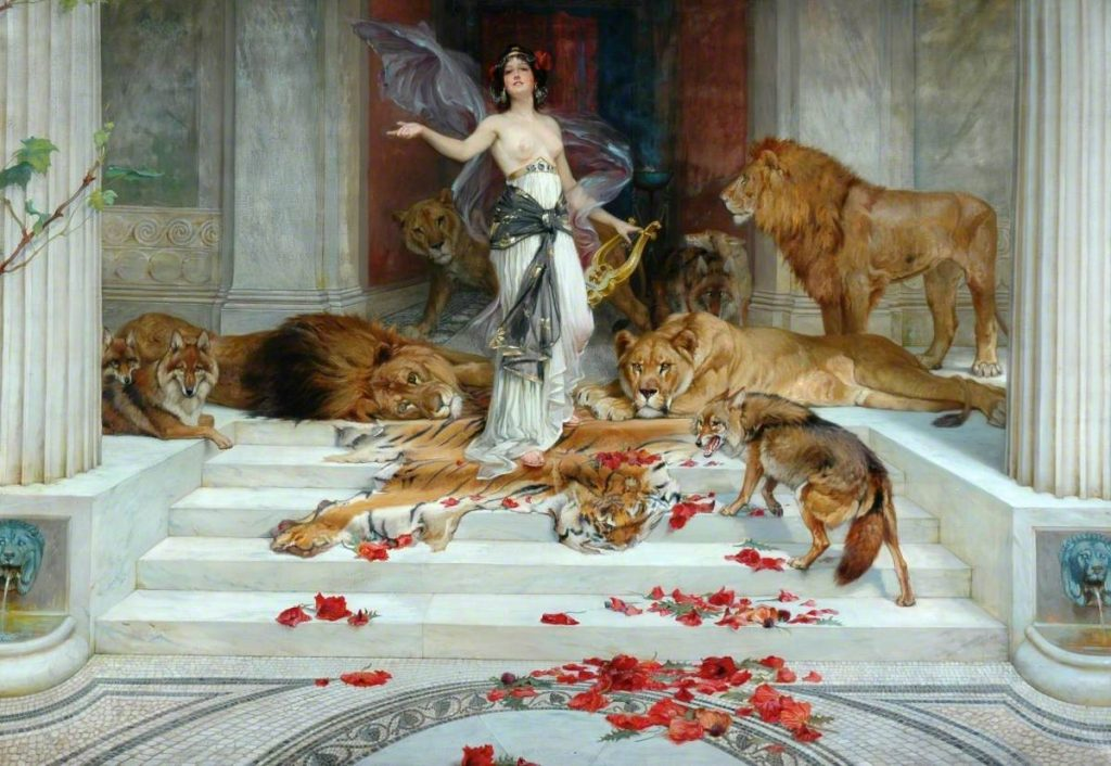 Barker, Wright; Circe; Bradford Museums and Galleries; http://www.artuk.org/artworks/circe-23017