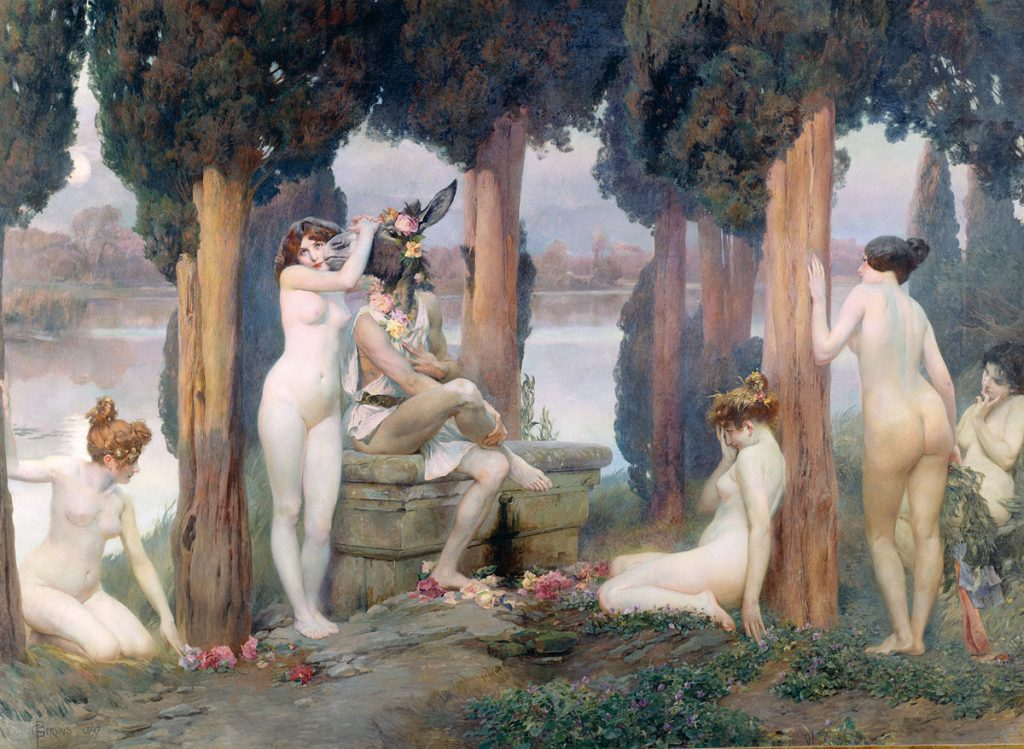 Paul-Léon Gervais, La folie de Titania,1897, huile sur toile, Musée des Augustins.