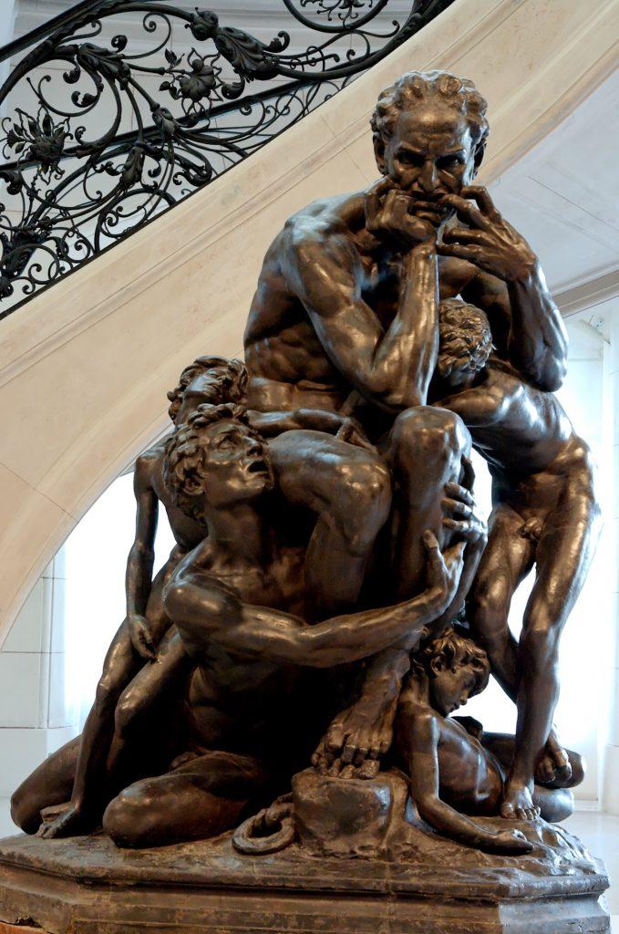 Jean-Baptiste Carpeaux (1827-1875), Ugolin entouré de ses quatre enfants, 1857-1861, huile sur toile, Musée d'Orsay.