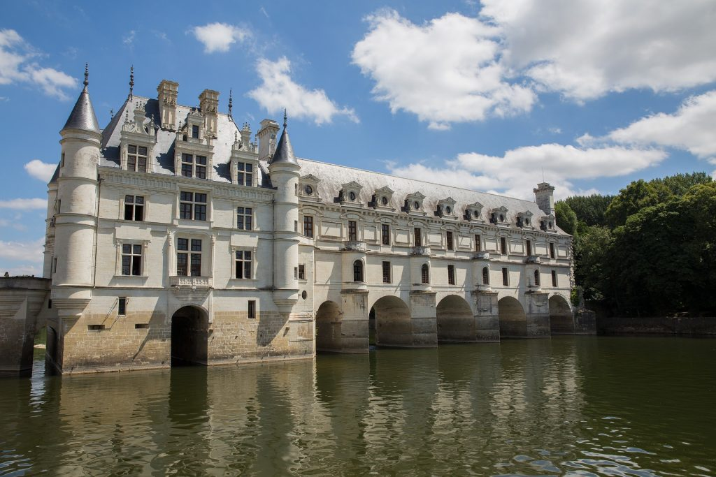 Le château de Chenonceau.