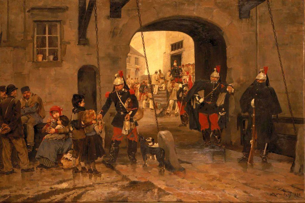 Marius Roy (1853 - 1921), La part des pauvres, 1886, huile sur toile, Musée des Beaux-Arts de Rennes.