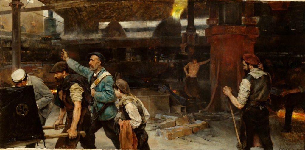 Vicente Cutanda y Toraya (1850-1925), Epílogo, 1895, huile sur toile, musée du Prado.