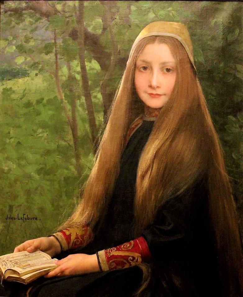 Jules Joseph Lefebvre (1834-1912), Griselidis (la prière), date inconnue, huile sur toile, Musée des Beaux-Arts de Rouen.