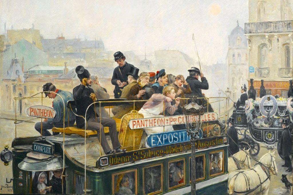 Henry Bacon (1839–1912), Egalité, vers 1889, huile sur toile, Brooklyn Museum.