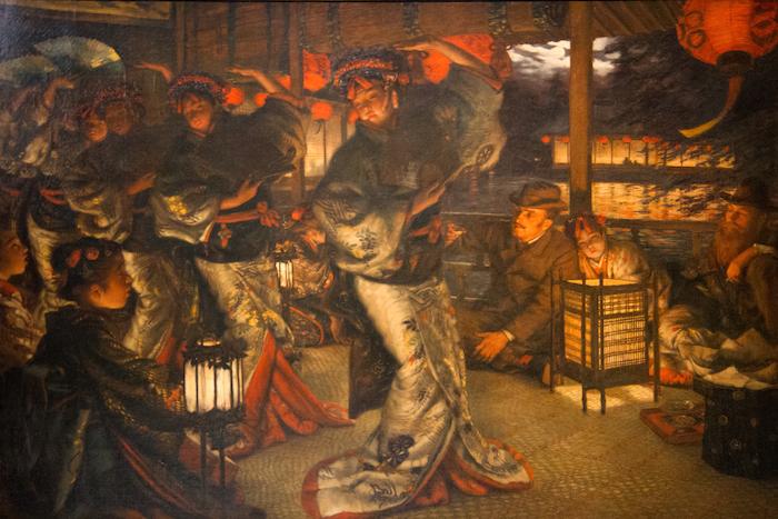 James Tissot (1836-1902), L'enfant prodigue : en pays étranger, 1880, huile sur toile, musée des beaux-arts de Nantes.