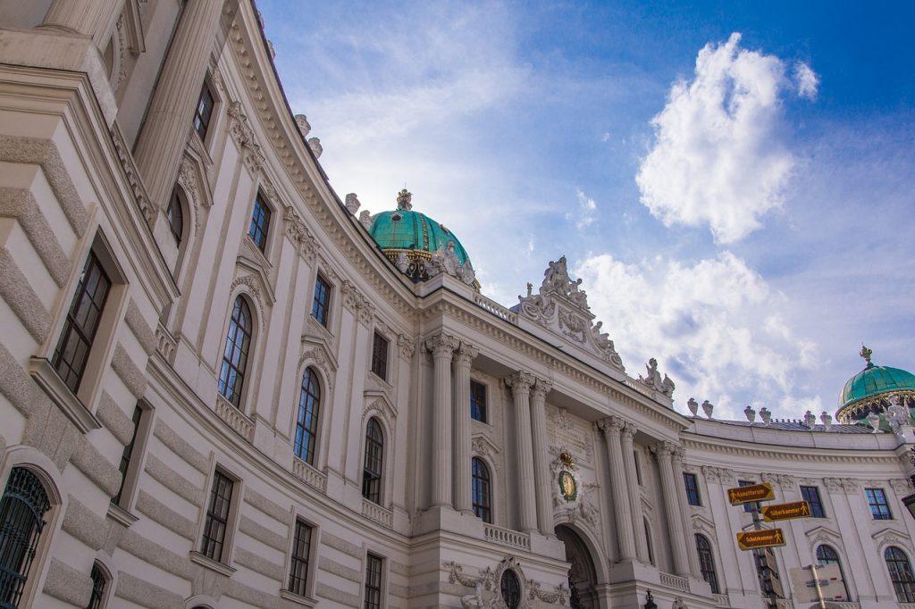 Vue du palais de la Hofburg